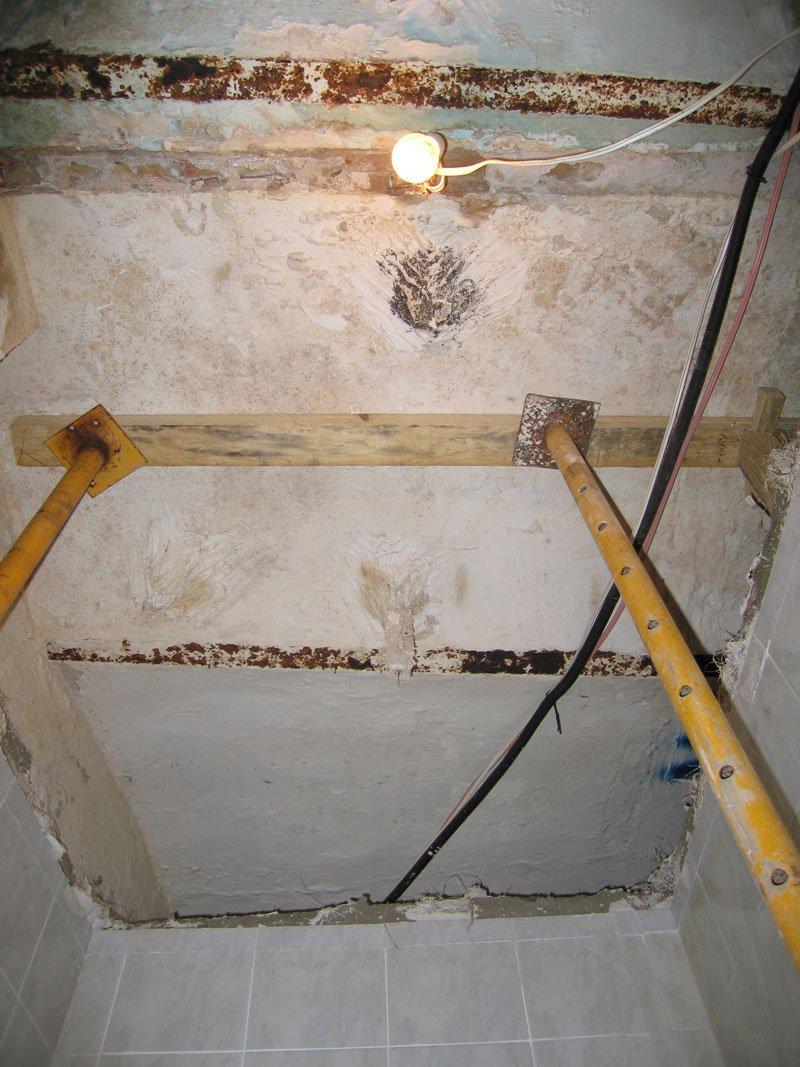 Renovación de forjado / viga